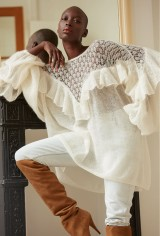 paris-boutique-mode-vetement-femme-pull-ivoire-model-mauresque-styliste-createur-paris