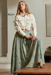 paris-fashion-store-women-blue-print-skirt-salage-fashion-designer-clothes-paris